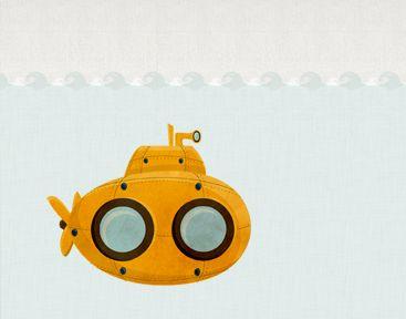 Submarine Illustration  by Meg Robichaud