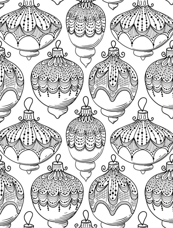 malvorlagen weihnachten für erwachsene  cards