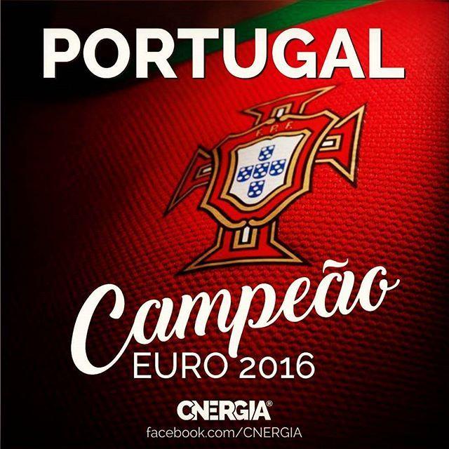 Nação Valente! Parabéns PORTUGAL! Congratulations Portugal! #euro2016 #PORTUGAL #PORTUALcampeão C'est lá vie, mes amis!!!!lll
