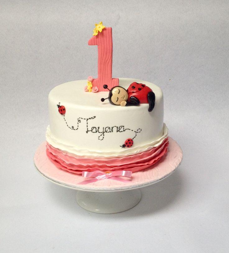 First birthday cake-girls Avril's Den cakes