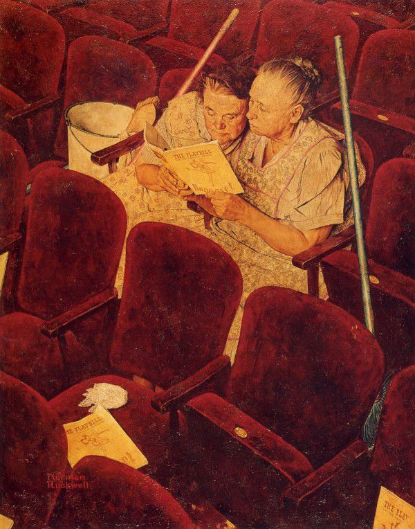 Best Norman Rockwell Images On Pinterest Artists - Ironic illustrations
