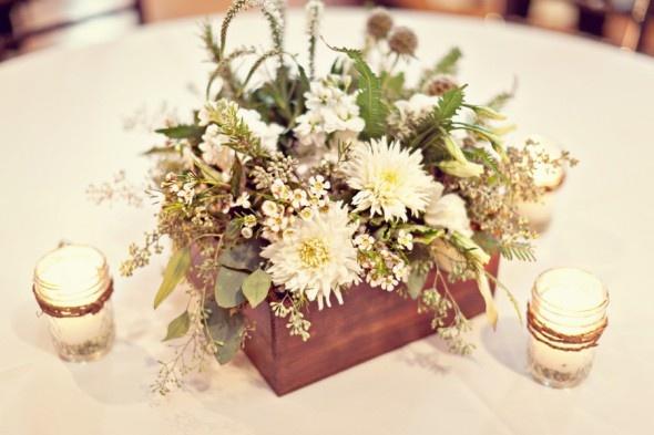 Rustic Chic Wedding Centerpieces