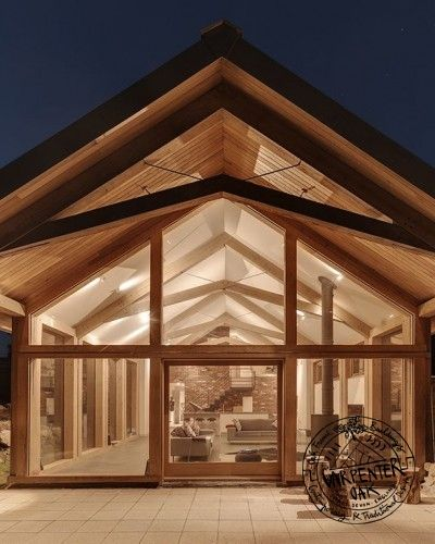 An Oak Frame Home Built For Under 200k: Oak Frame Project Gallery