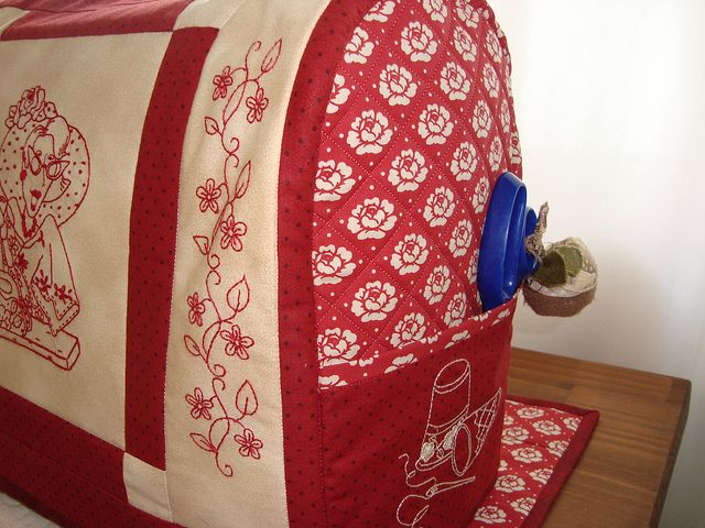 Capa de maquina de costura. | Flickr - Photo Sharing!