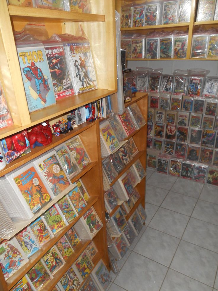 52 best comic book storage display ideas images on for Comic book box shelves