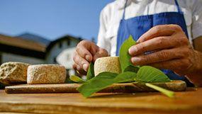 Käse und andere Milchprodukte frisch vom Bauernhof in Südtirol