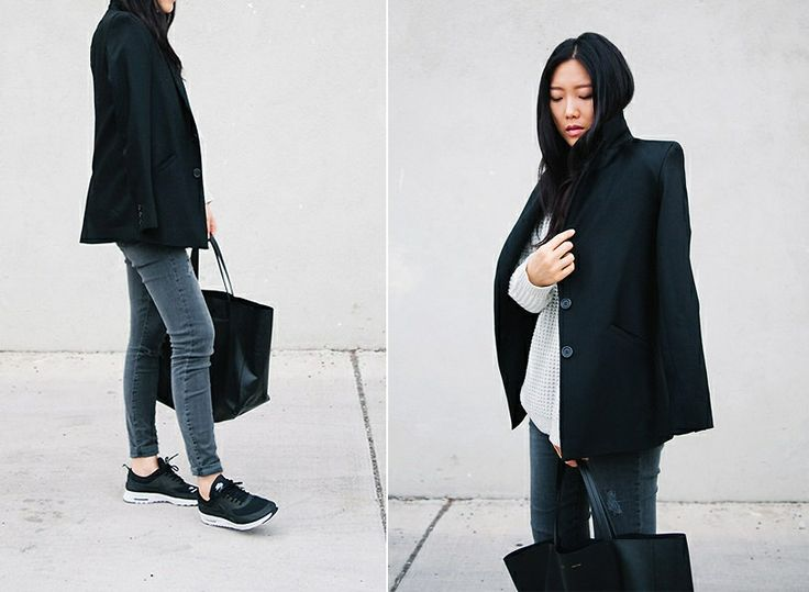 Nike Air Max Thea Black Outfit