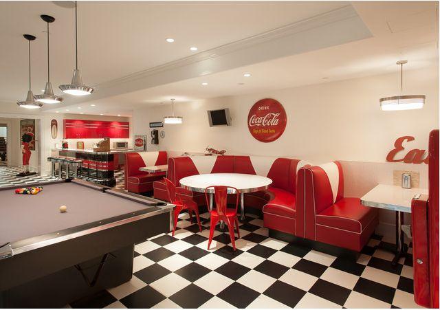 Restaurante inspirado nos anos 50