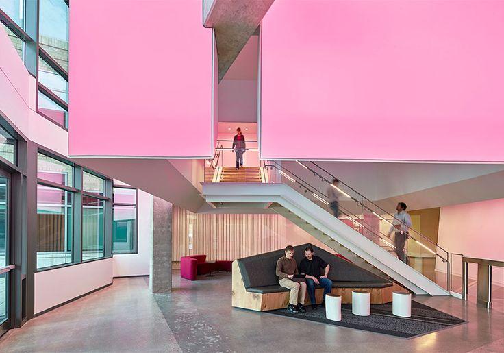 Microsoft Campus Buildings 16 & 17 Insight Lighting