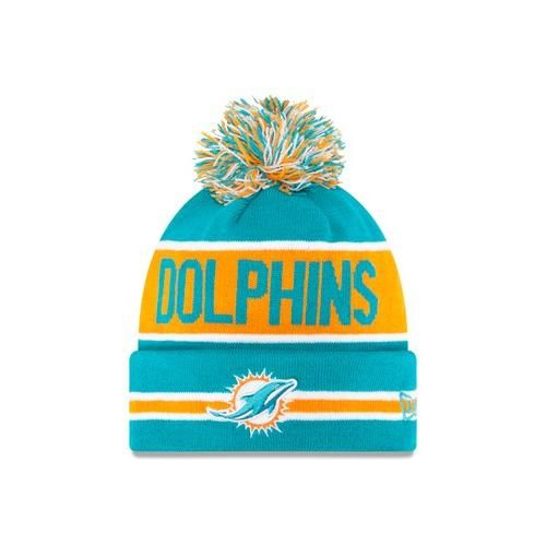 Miami #Dolphins New Era® The Coach Knit Hat. Click to order! - @22.99