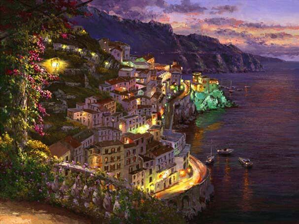 Lights of Amalfi-Italy