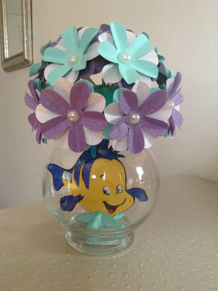 Little Mermaid - Flounder Party Centerpiece