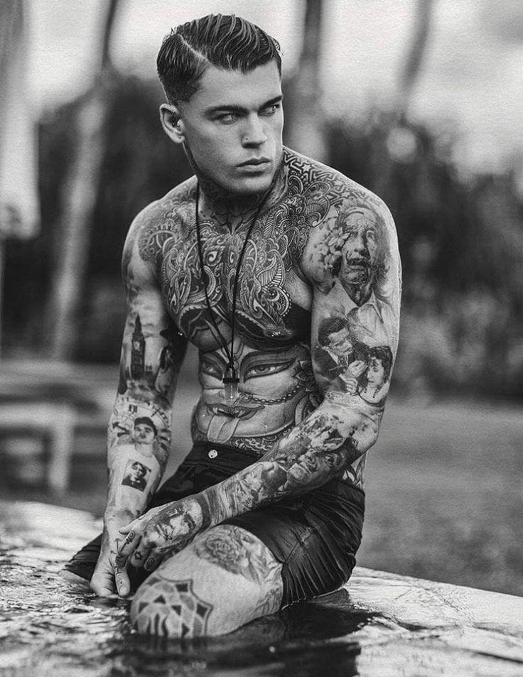 Картинки парень с татуировками