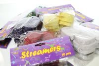 Party Streamers - Super Floral Distributors - Decor, Floral accessories and Crafters accessories in Cape Town