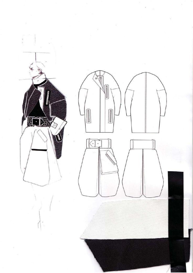 Fashion Sketchbook - fashion illustration; fashion design drawings & fabrics; fashion portfolio // Andrew Voss