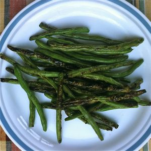 Grilled Green Beans: Grilled Green Beans