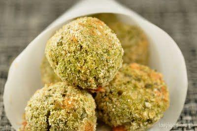 Crocchette di miglio e broccoli