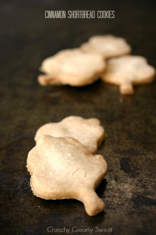 Cinnamon Shortbread Cookies Recipe - Crunchy Creamy Sweet
