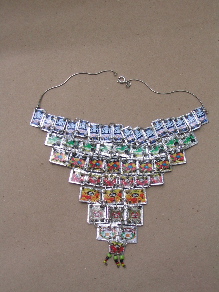 BeverleyPrice©  Small 'BrandsBeads' Ndebele form necklace