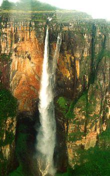 "Angel Falls, Venezula....It's ""Paradise Falls"" from Up! :))"
