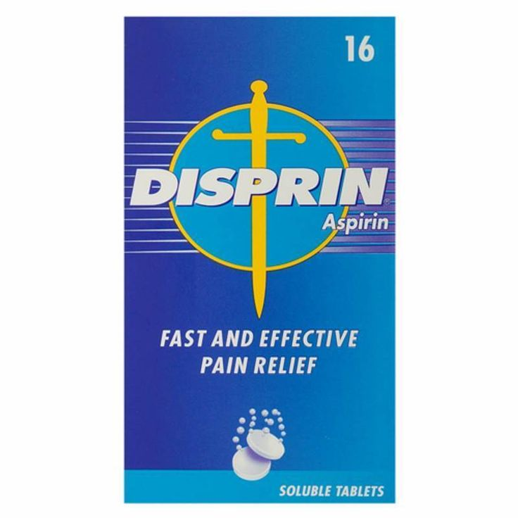 1 x 300mg Disprin™ Aspirin Soluble Tablet