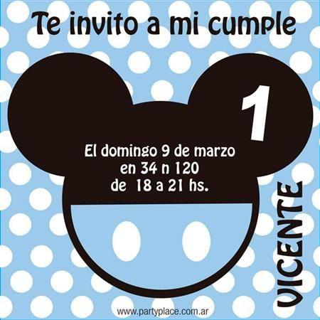 25 best ideas about imagenes de mickey bebe on pinterest - Imagenes de fiestas de cumpleanos ...