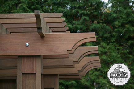 1000 images about pergola rafter tails on pinterest. Black Bedroom Furniture Sets. Home Design Ideas