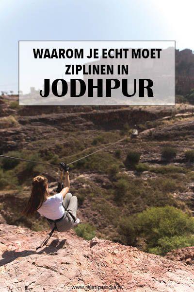 Wanneer je in Jodhpur bent, mag je het ziplinen met Flying Fox zeker niet overslaan! Lees hier alle tips en informatie over het ziplinen in Jodhpur.