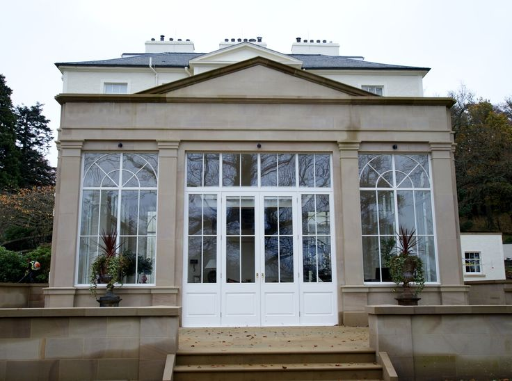 Garden room restored by MMR and TJ Ross