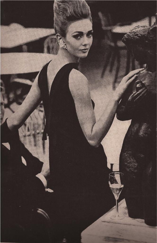 Fashion Magazine Editorial*Helmut Newton*Model Ina Balke*Cardin*Griffe 1962   eBay