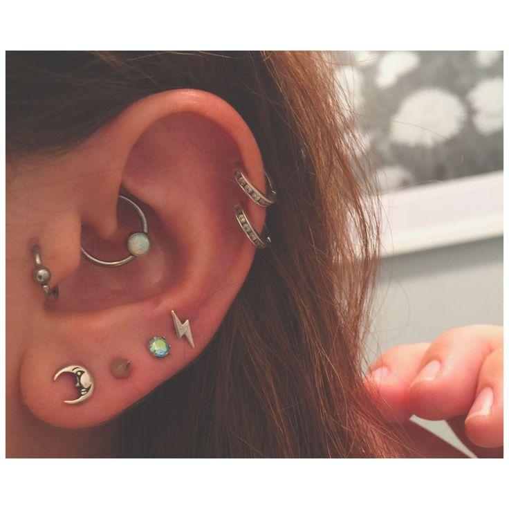 Ear piercings
