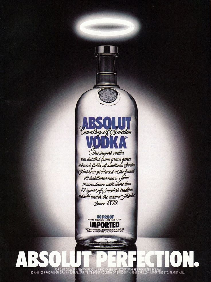 The Creative History of Absolut Vodka | Branding Magazine