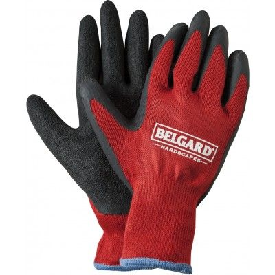 Add an additional layer of protection to your promotional work gloves by having them procted with dipped rubber on the outside.  Red Knit Gloves with Dipped Palms, available at PromotionalGloves.com