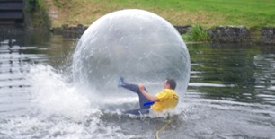 Water Walking Balls
