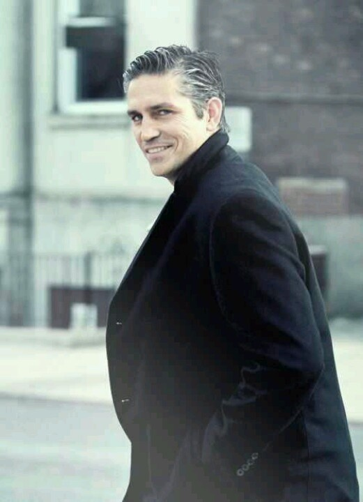 "Jim Caviezel   as John Reece "" man in the suit"". those eyes"
