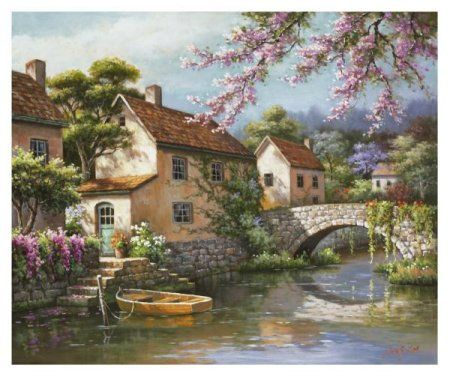 ©Sung Kim - Country Village Canal