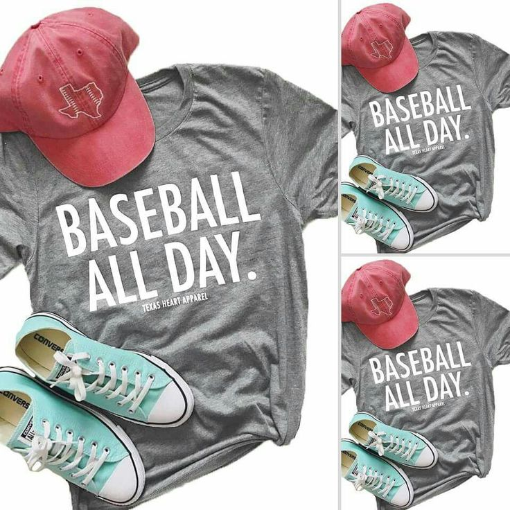 Baseball All Day Tshirt