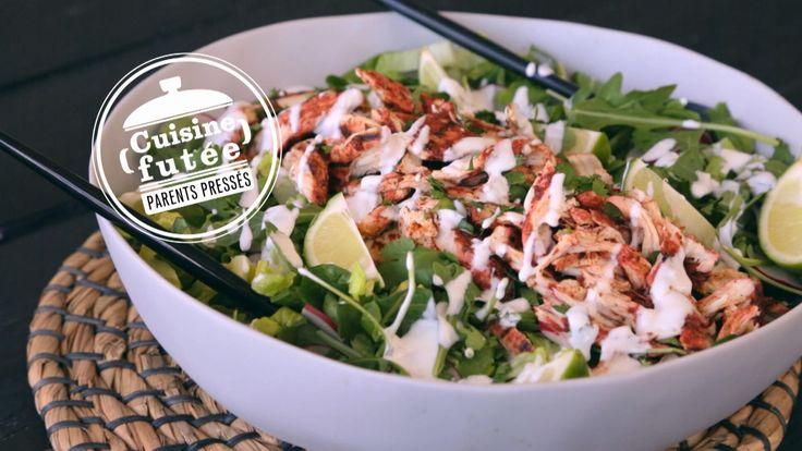 Salade de poulet tandoori | Cuisine futée, parents pressés
