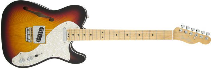 American Elite Telecaster® Thinline | Telecaster® Electric Guitars | Fender® Guitars