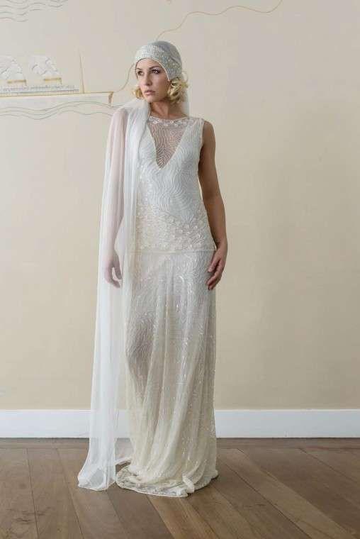 resultado de imagen de vestidos novia años 20 | novias y fiesta