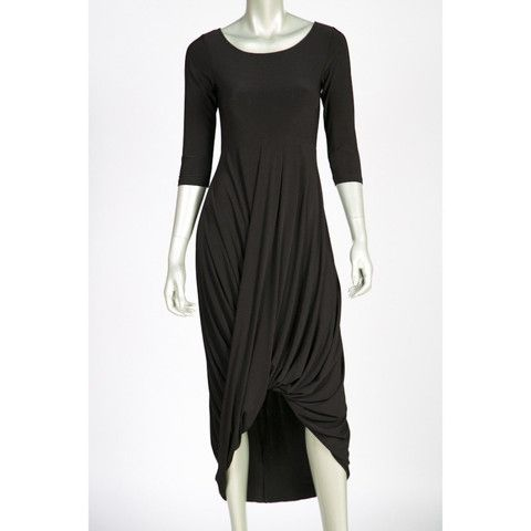 Joseph Ribkoff Black Dress 32025N - Ravishing & Rugged