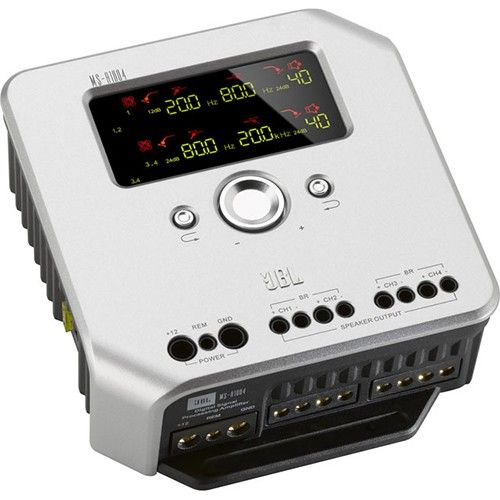 Amplificator auto JBL MS-A1004, 4 canale, 4x100 W, 4 Ohm