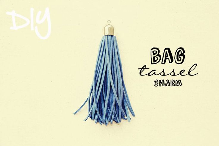 DIY bag tassel accessory tutorial