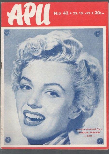 Apu 1952, kannessa Marilyn Monroe