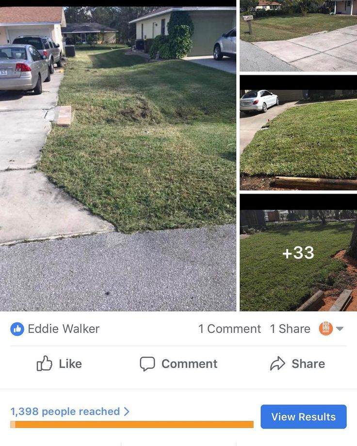 At CC Landscaping we can provide you will full lawn service sod installation mulch/rock installation plant flowers/shrubs shrub/tree trimming also gutter cleaning ! If you have any questions or is interested in booking us. Feel free to contact me on my cell or either one of these social media platforms ! Make CC Landscaping your official landscaping company ! Don't forget to like comment  and share this post ! Thank you ! Facebook: Cedric Walker Business page: C&C Landscaping Instagram…