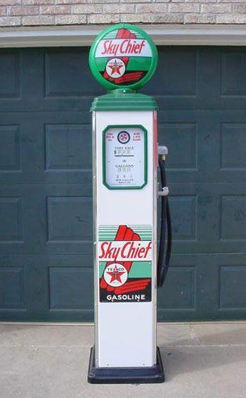 modern texaco gas pump