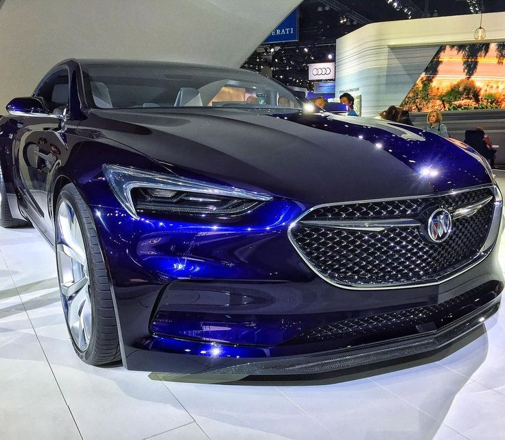 The Buick Avista concept from 2016's #LAAutoShow. 2017 ticket discounts and show news now available at our bio link