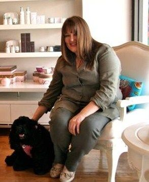 Meet Kylie, owner of Missy's Place where her doggie, Panda meets and greets the clients.