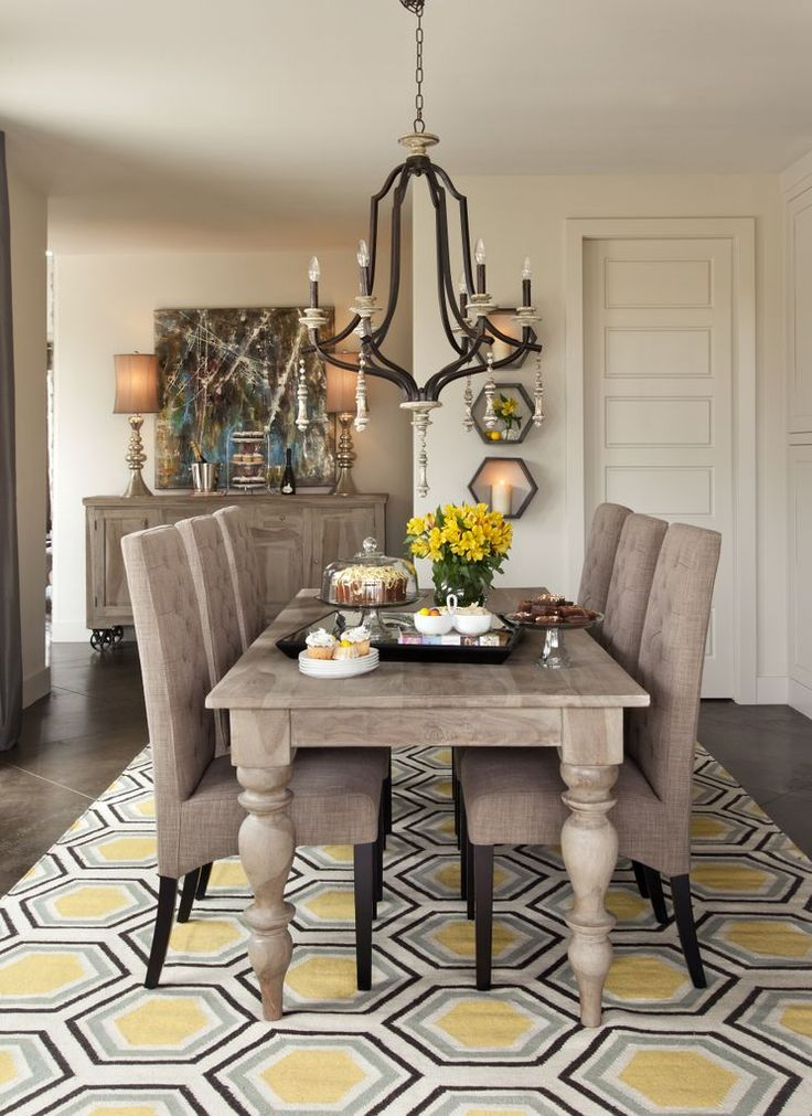 Best 25 gray wash furniture ideas on pinterest grey for Grey and yellow dining room ideas
