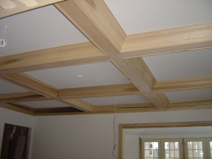 Hand Made Coffered Ceilings by Woodworking Oc  CustomMadecom  Kitchen Design in 2019